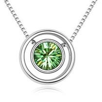 Collar Rings Hecho Con Cristales Swarovski®