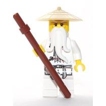 Tb Lego Ninjago Sensei Wu Minifigure