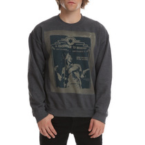 Hot Topic Sudadera Gris Bob Marley December Crew Pullover