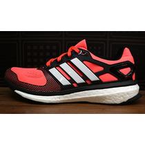 Tenis Adidas Energy Boost 2 Naranja (f)