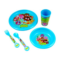 Vajilla - Oficial Moshi Monsters 5pc Niños Cubiertos