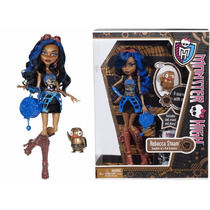 Robecca Steam Diario Mascota Monster High