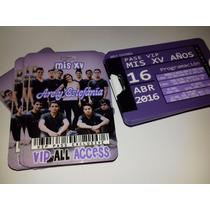 Invitaciones Plasticas Tipo Gafete,credit Card Xv Años.boda