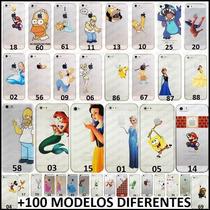 Funda Iphone 4 5 5c 6 Plus Homero Bart Mickey Mario Minions