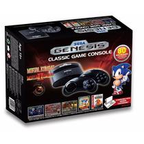Consola Sega Genesis Classic Edicio 2015 Mortal Kombat 1 2 3