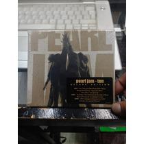 Pearl Jam Ten Deluxe Edition 2 Cds Y 1 Dvd Nuevo Importado