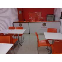 Barras Y Mostradores Cafeteria, Mesas Restaurante Etc