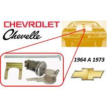 64-73 Chevrolet Chevelle Chapa Para Cajuela Llaves Cromado