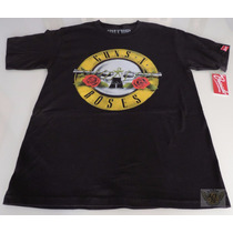 Guns And Roses Playera Bravado Jv-ch- M-g & Xl Heavy Danbr68