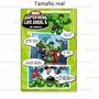 Invitaciones Tipo Comic (tamaño Foto 4 X 6) Imprime Tú!