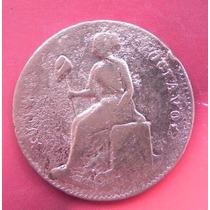 Moneda México 1/8 De Real Jalisco Año 1859 Cobre