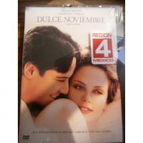 Keanu Reeves Charlize Theron Dulce Noviembre Dvd Rg 4 Mexico