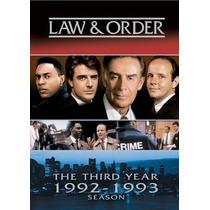 La Ley Y Orden Temporada 3 Importada Dvd