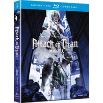 Attack On Titan 2 Anime Serie Tv Importada En Bl + Dvd Combo