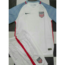 Uniforme Estados Unidos 2016 Local Y Visitante