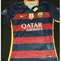 Oferta Jersey Barcelona Fc 15-16 Champions Envío Gratis!!