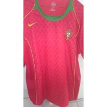 Jersey Seleccion Portugal 2006 Local Nike Cristiano Figo