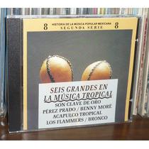 P Prado Acapulco Tropical Cd 6 Grandes En La Musica Tropical