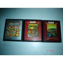 Atari 2600 Mario Bros,donkey Kong Y Donkey Kong Jr.