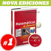 Matemáticas De Primaria 1 Tomo + Cd Rom