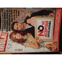 Revista Hola Portada Eugenio Derbez, Alessandra Rosaldo