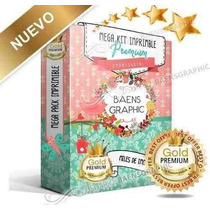 Kit Imprimible Premium - Candy Bar ¡¡ N U E V O!!! + Regalos