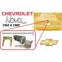 62-80 Chevrolet Nova Para Chapa Cajuela Con Llaves Cromado