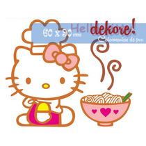 Hello Kitty Chef Sticker Decorativo ... Dekore!