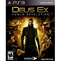 Deus Ex Human Revolution Para Ps3 Nuevo Sellado Op4 Pm0