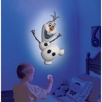 Lampara De Pared De Olaf De Frozen! Dice Varias Frases!