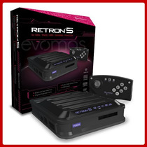 Retron 5 Consola 5 En 1 De Nes Snes Genesis Famicom Hyperkin