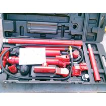 Equipo Portapower De 10 Ton, 16 Acsesorios Garantia 90 Dias