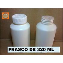 Envases, Frascos De Plástico 320 Ml (paq 15 Pzas) $105.00