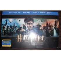 Harry Potter Coleccion Hogwarts Blu-ray 31 Discos