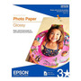 Papel Epson Glossy Photo Tama�o Carta 20 Hojas +c+