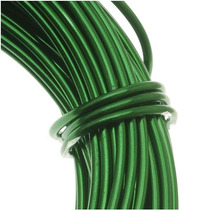 Alambre Para Artesanías, Verde Calipso, Calibre 12 (11.8m)