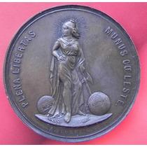 Medalla Mexico Independencia Anv 1910 Para España