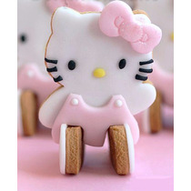 Cortador Galletas Hello Kitty 3d Pan Pasta Fondant Chocolate