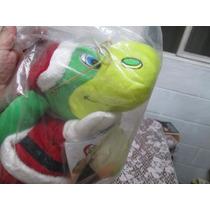 Títere De Danonino. Hermoso Disfraz De Santa Claus