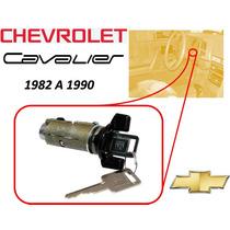 82-90 Chevrolet Cavalier Switch Encendido Llaves Color Negro