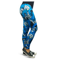 Batman Collage Legging Mascara De Latex Dc Comics