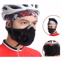 Mascarilla Para Ciclistas Contra Polvo Dgv
