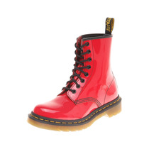 Dr. Martens - Bota Patent Lamper Roja - Rojo - 11821606