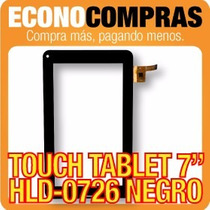 Touch Tablet China 7 Universal Hld-0726 Negra 100% Nueva!!!!