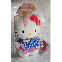 Hello Kitty Peluche Esfera Dulcero Paletas 40cm De Colección