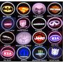 Proyector  Logo Led Luz D Cortesía Puerta Auto,73 Diferentes