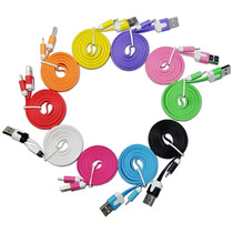 Cable Usb Lightning Certificado Colores Iphone Ipod Ipad 1mt