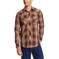 Camisa Importada Eua Talla S Cowboy Wrangler Una Puesta