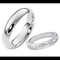 Argollas De Matrimonio Mod. Burdeos Oro 14k Matrimoniales