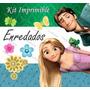 Kit Imprimible Enredados Rapunzel Tangled Invitaciones Pics